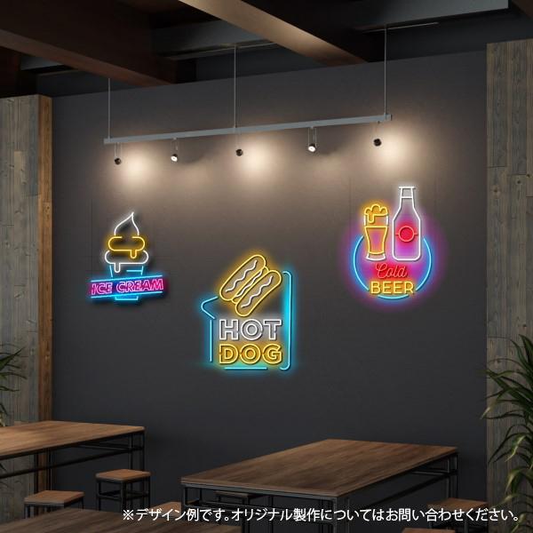 ネオン風LED-cafe