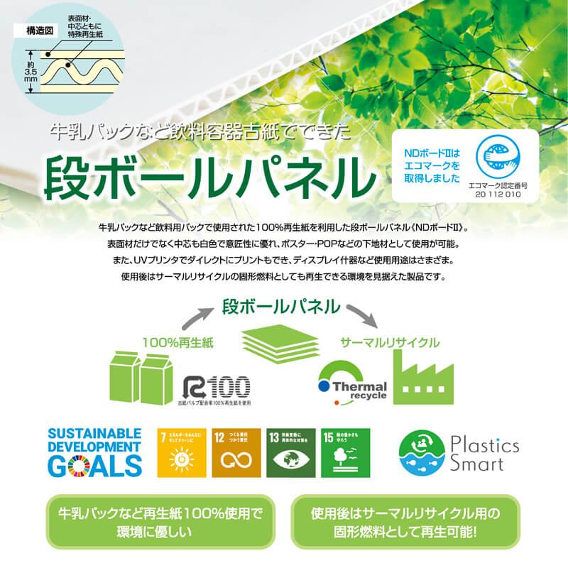 エコロジープリント(タペストリー印刷)