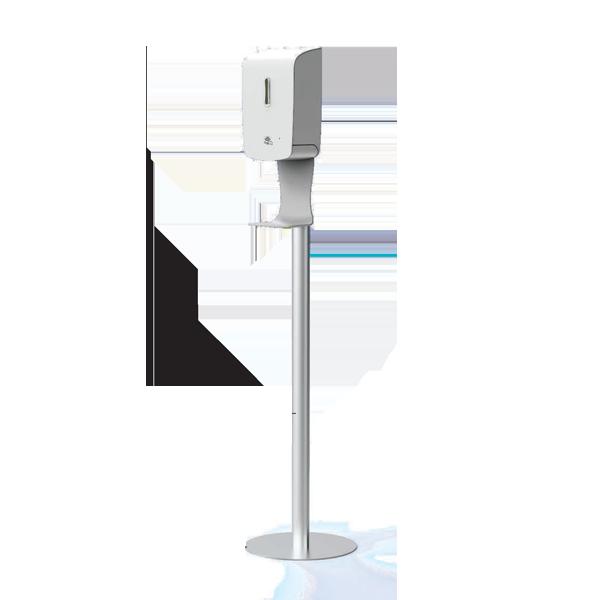 【コロナ対策】自動消毒液噴霧器フロアタイプ